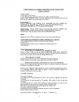 CR du conseil municipal du 07 09 2015