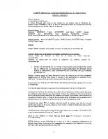 CR du conseil municipal du 08 112016