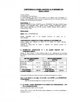 CR du conseil municipal du 09 12 2015